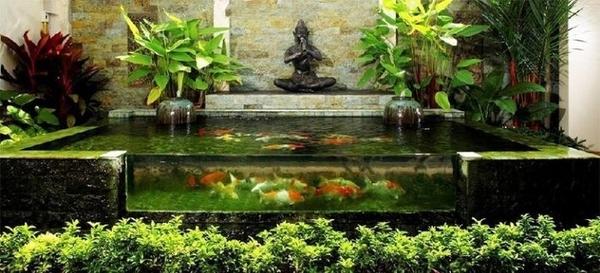 """""""Choáng"""" với các mẫu thiết kế hồ cá Koi siêu đẹp lại hợp phong thủy"""